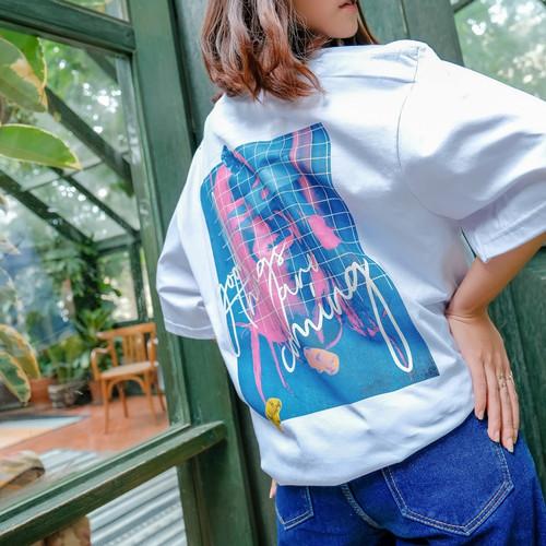 Foto Produk JINISO T-Shirt Yummy Oversize Tee | Kaos dari JINISO.ID