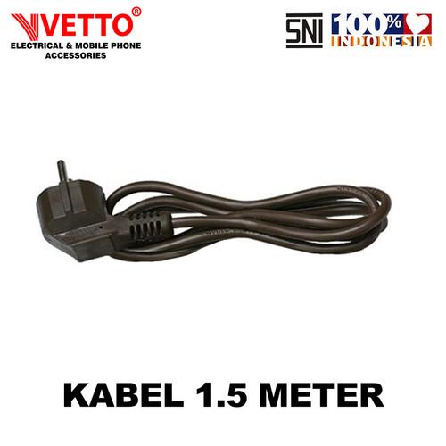 Foto Produk VETTO KABEL SNI 1.5M HITAM dari Vetto Smart Home