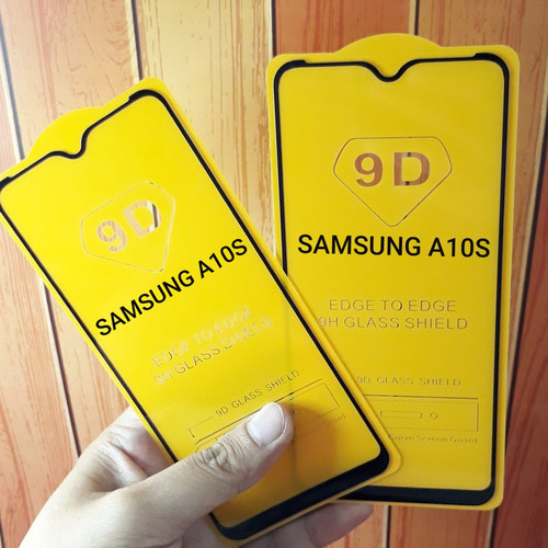 Foto Produk Tempered Glass Samsung Galaxy A10S Full Layar 9D / 11D Anti gores Kaca dari Selalu Kasih murah
