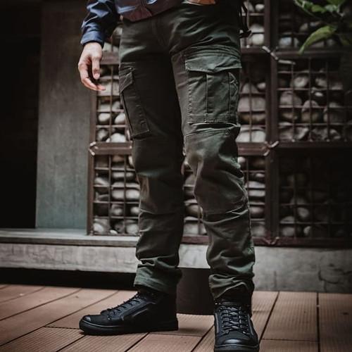 Foto Produk Celana Riding Lander Motor Pants + Protector - Original Diskon - Abu-abu, 30 dari TDspeedshop