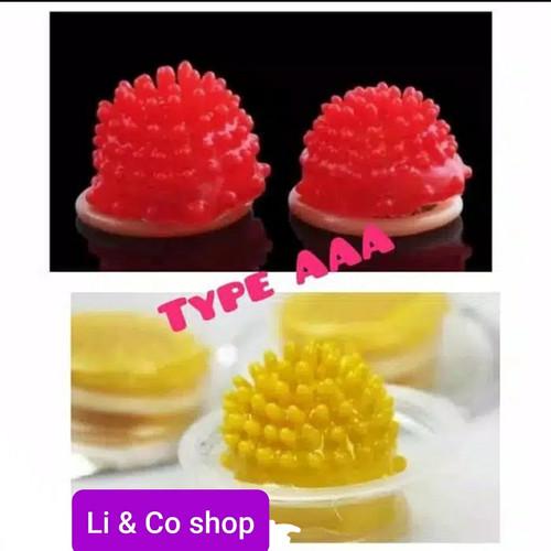 Foto Produk kondom alien gerigi murah spike dot dari Li & Co