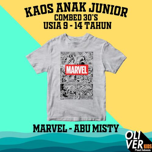 Foto Produk KAOS ANAK TANGGUNG JUNIOR SD SMP karakter superhero marvel disney - 11-12 tahun dari easyshop #1.bdg