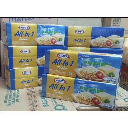Foto Produk Keju kraft cheddar all in one cheeze 2kg dari In and In Shop