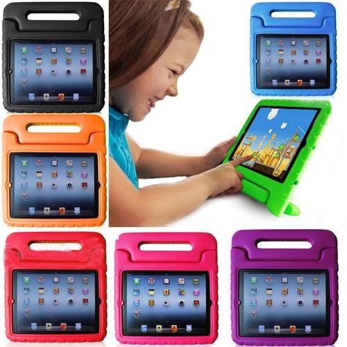 "Foto Produk Ipad 7 8 10.2"" EVA ShockProof i-case Standing Children Cover Case Kids - Hitam dari Pro Glass"