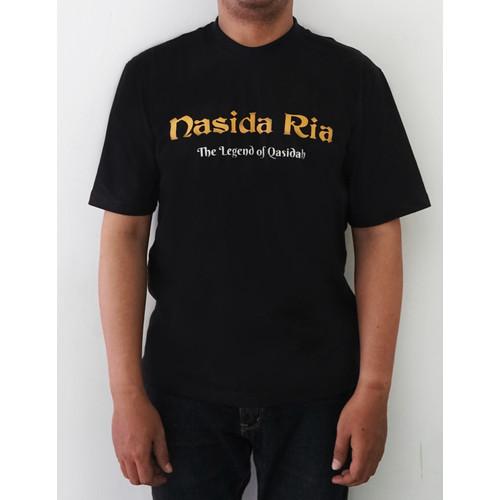 Foto Produk Nasida Ria Basic Black T Shirt - Kaos Nasida Ria The Legend of Qasidah - XL dari Nasida Ria