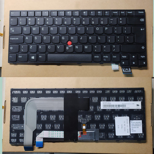 Foto Produk Keyboard Lenovo Thinkpad 13 T460S T470S Versi UK series dari Kolam_comp