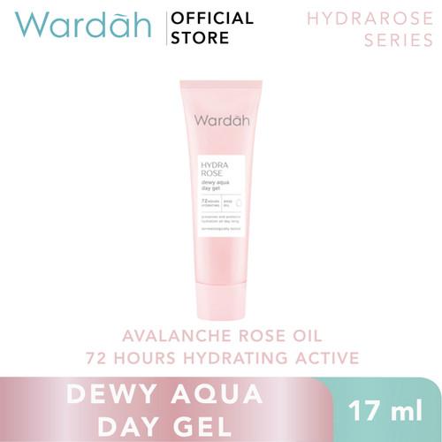 Foto Produk Wardah Hydra Rose Dewy Aqua Day Gel 17 ml dari Wardah Official