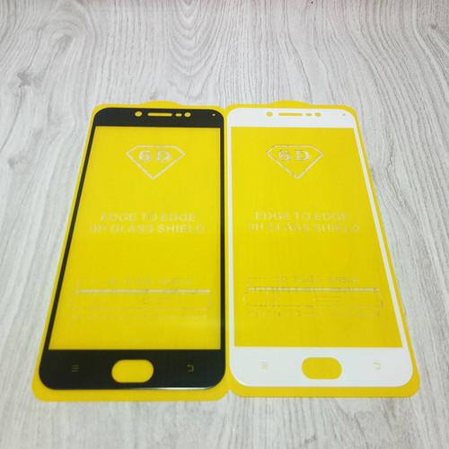 Foto Produk Tempered Glass Full Vivo V5, V5s, V5 Lite, V7, V7 Plus Full Lem - V5 V5s V5Lite, Hitam dari BJ Shop 88