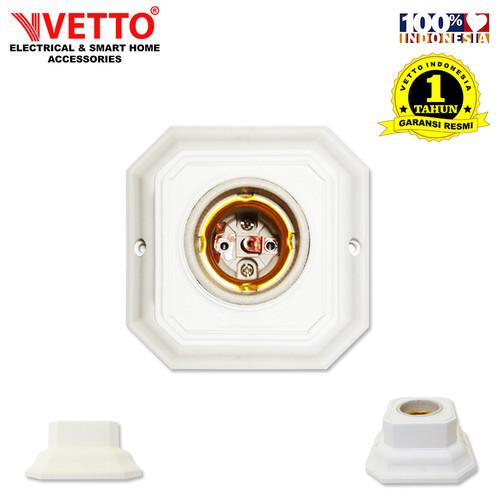Foto Produk VETTO Fitting Plafon Lampu - Segi 4 dari Vetto Smart Home