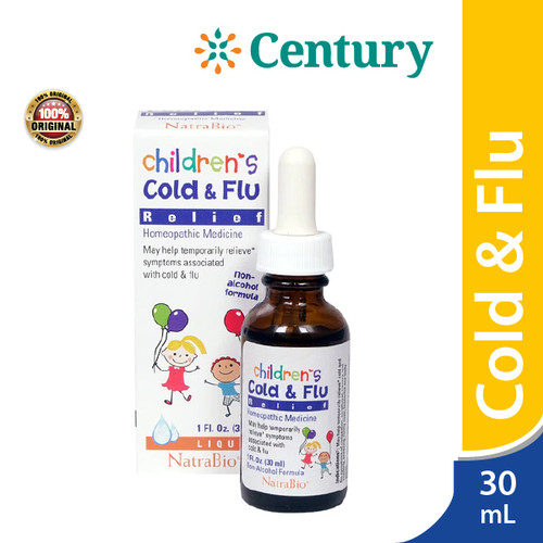 Foto Produk Natra Bio Children Cold & Flu 1 botol isi 10 ml / Flu Demam Anak dari CENTURY HEALTHCARE