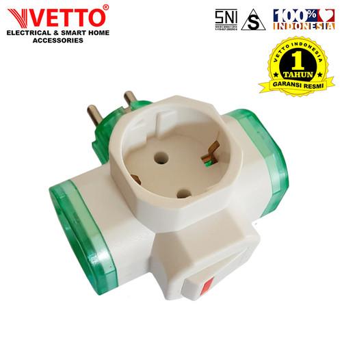 Foto Produk VETTO V-880 Steker T Arde + SW - SNI dari Vetto Smart Home