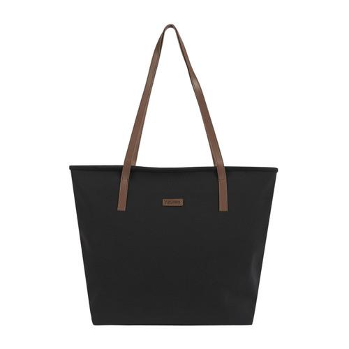 Foto Produk Ceviro Yumie Tote Bag Tas Bahu Wanita Tas Tote Besar Black dari Ceviro Bags Indonesia