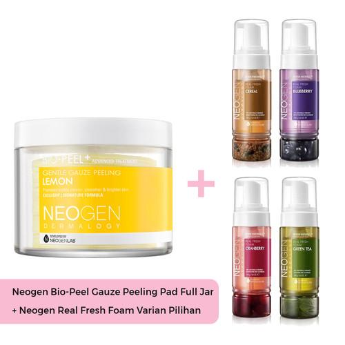 Foto Produk Neogen Dermalogy Bio Peel Gauze Peeling Lemon FREE FOAM dari Neogen Dermalogy