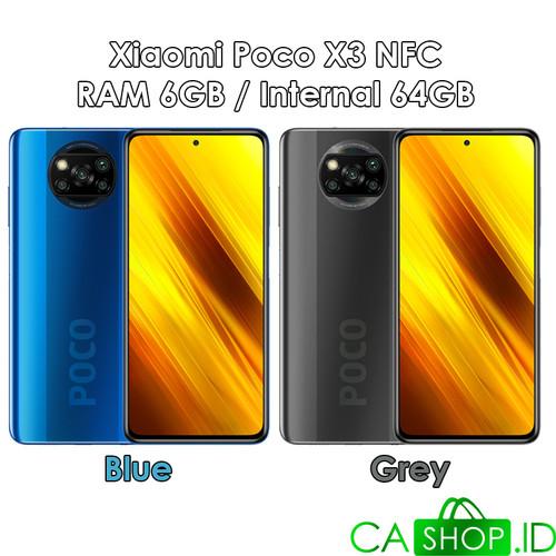 Foto Produk Xiaomi Poco X3 NFC - 6GB 64GB (6/64) - New Original Garansi Resmi - Grey dari CA Shop