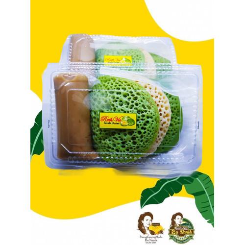Foto Produk Serabi Durian Asli khas Bangka (KHUSUS GOJEK GRAB) dari Pisang Goreng Madu Bu Nanik