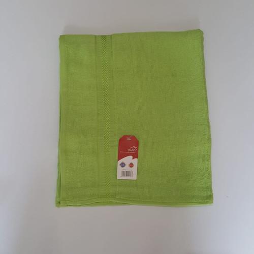 Foto Produk Terry Palmer Handuk Merah Putih Polos GRADE A ukuran 30 x 70 cm - Hijau dari BILANGAN3HANDUK