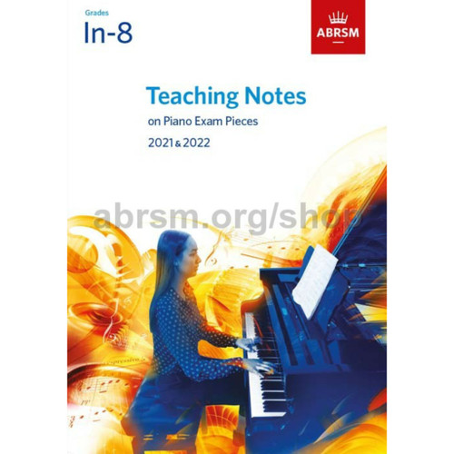 Foto Produk Teaching Notes on Piano Exam Pieces Grades 1-8 Buku ABRSM - 2021-2022 dari WoodenBox