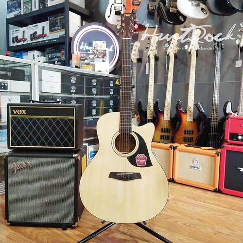 Foto Produk Gitar Akustik Elektrik Cetta CG21CE Natural dari HurtRock Music Store