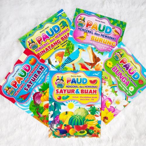Foto Produk Buku PAUD Mengenal dan Mewarnai Berbagai Seri Edukasi Murah Meriah dari Kedai Kadoku