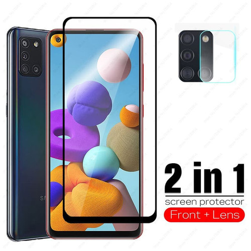 Foto Produk TEMPERED GLASS SAMSUNG A21S + TG KAMERA dari Custome Case Unik