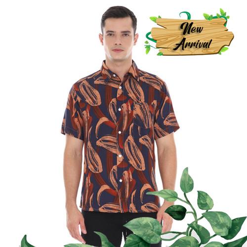 Foto Produk Cottonology Kemeja lengan Pendek Palma Biru - S dari Cottonology Indonesia