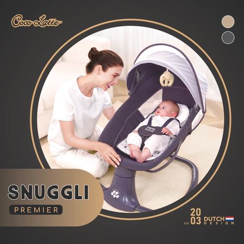 Foto Produk Bouncer Cocolatte Weeler Snuggli Premier / Ayunan Bayi Elektrik - Stone Grey dari Baby_World