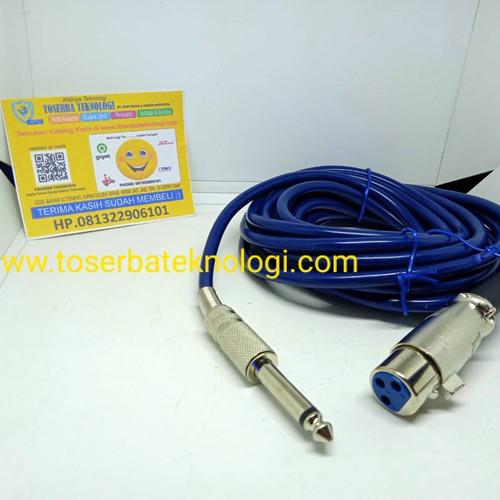 Foto Produk Kabel Mic Dengan Jack Plug In play kualitas dari Toserba Teknologi Official