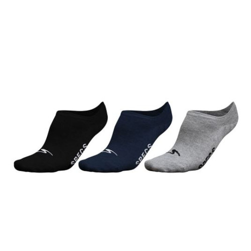 Foto Produk Specs Encase Invisble Socks 3Pack M - Blck/Nvy/Gry dari SPORTAWAYS