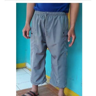 Foto Produk Celana pangsi sirwal/celana sontog pria bahan dril katun M/L/XL/XX dari motekar sirwal