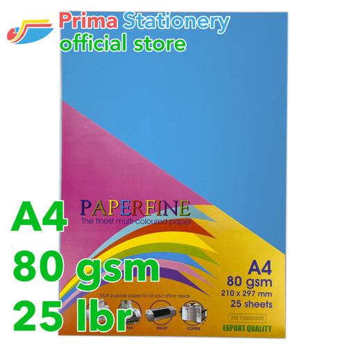 Foto Produk Kertas HVS Warna Paperfine Turquoise dari Prima Stationery