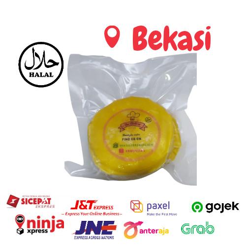 Foto Produk Kulit Dimsum Gyoza 7,5 Cm Isi 50 lembar Tipis halal - Kuning dari TheSistersID