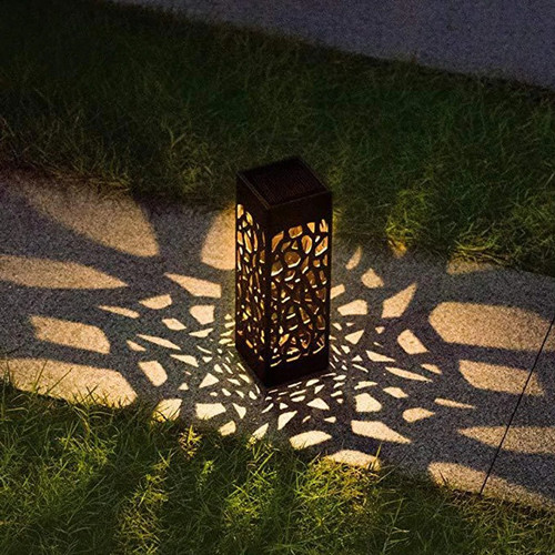 Foto Produk Lampu Taman Solar Panel Garden Decoration Ground Plug Warm Light dari futureshopid