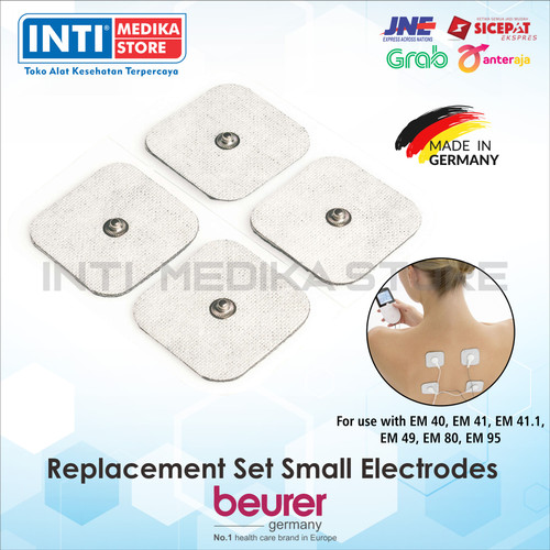 Foto Produk BEURER - Electrode Pad for EM 49 / EM 80 isi 8 pcs | Electrode Set dari INTI MEDIKA STORE