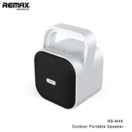 Foto Produk REMAX Outdoor Portable Speaker RB-M49 - WHITE dari Remax Indonesia Official