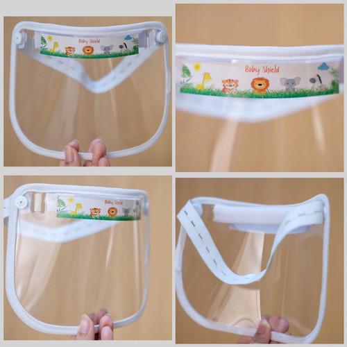 Foto Produk baby Faceshield bayi Face Shield alat pelindung diri / Pelindung Wajah - Putih dari BrandOne
