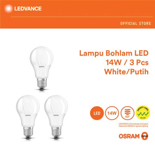 Foto Produk Osram Lampu Bohlam LED 14 Watt 3 Pcs - Putih dari Ledvance Official Store