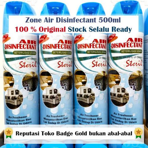 Foto Produk Air Disinfectant 500 ml 500ml Zone Air Disinfectant 500ml Asli dari Suplemen Fitness Murah