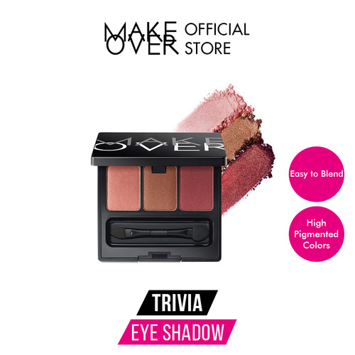 Foto Produk MAKE OVER Trivia Eye Shadow - Dolly Crush dari Make Over Official Shop