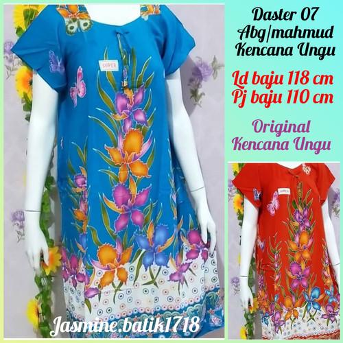 Foto Produk DASTER PENDEK ABG 07 KENCANA UNGU KUM dari jasmine.batik1718