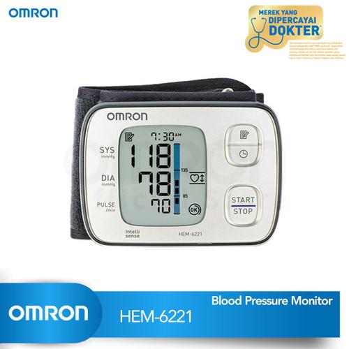 Foto Produk OMRON WRIST AUTOMATIC BLOOD PRESSURE MONITOR HEM-6221 dari Omron Healthcare
