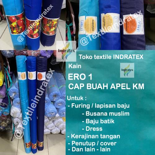 Foto Produk BAHAN KAIN FURING LAPISAN ERO HERO KATUN TIPIS TAS BAJU CAP BUAH APEL dari Textile indratex