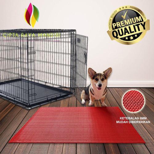 Foto Produk Alas Kandang Kucing/Alas Kandang Anjing/Alas Kandang Tortoise 40x60 - Hitam dari Cipta Raya Mandiri