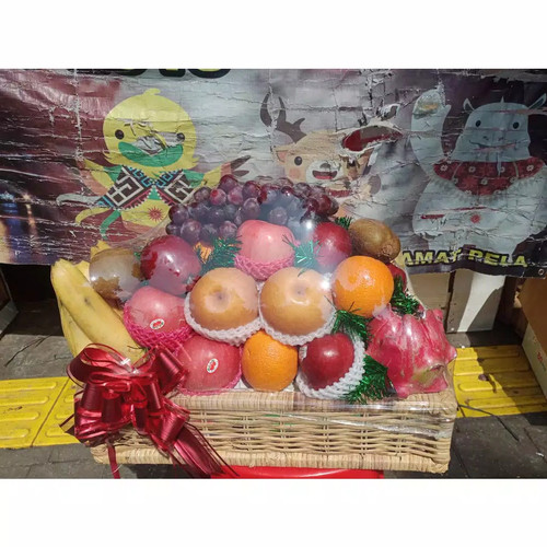 Foto Produk parcel buah segar lengkap keranjang besar dari Kilauberkah