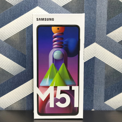 Foto Produk Samsung Galaxy M51 8/128 GB 8GB/128GB New Segel Garansi Resmi SEIN - Putih dari Punya Arti