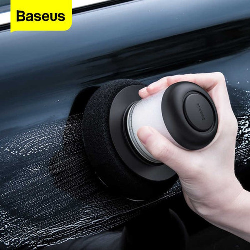 Foto Produk BASEUS MESIN POLES BODY MOBIL CAR WAX LAZY WAXING MACHINE BASEUS - Hitam dari PLATINUM CAR PARTS