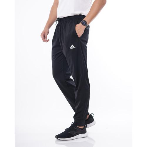 Foto Produk Jogger Panjang AD01 Karet Rib Bawah / Celana Jogger RESLETING - Hitam, L dari Simplezone