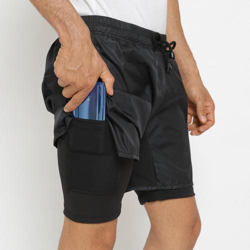 Foto Produk FTSL CMP Compression short celana pendek fitnes gym running legging - M dari ftslapparel