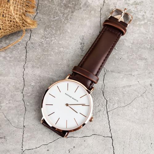 Foto Produk Jam Tangan Pria | Men's watch Hannah Martin Original Simple Design - JA2 dari Toko Disen