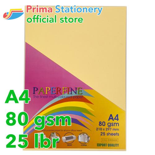 Foto Produk Kertas HVS Warna Paperfine Cream dari Prima Stationery