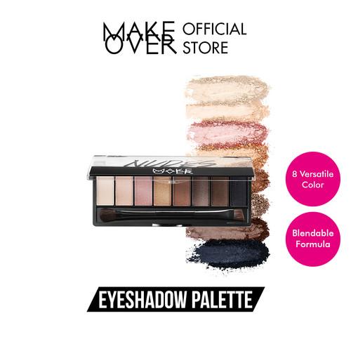 Foto Produk MAKE OVER Eye Shadow Palette - Nudes dari Make Over Official Shop